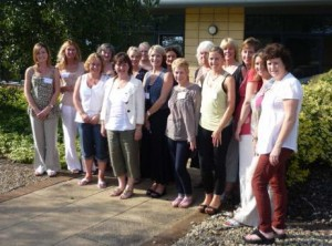 Reflexologists attending the first meeting of the ARR in Birmingham